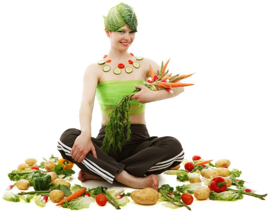 lady vegetable image