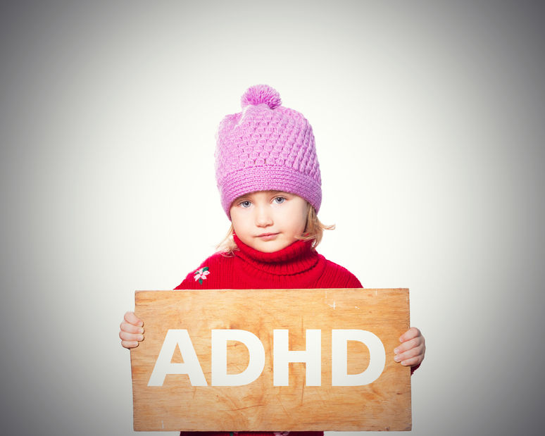 ADHD Little girl image
