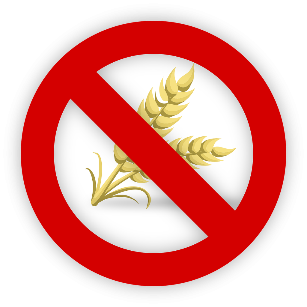 gluten allergy image