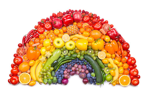 colourful Fruits & veg image