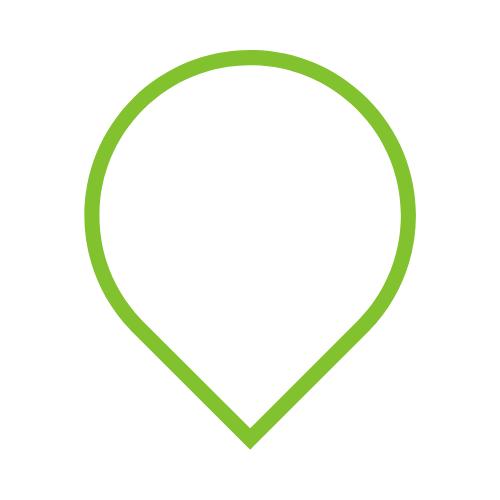green teardrop image