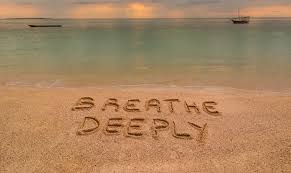breathe deeply image