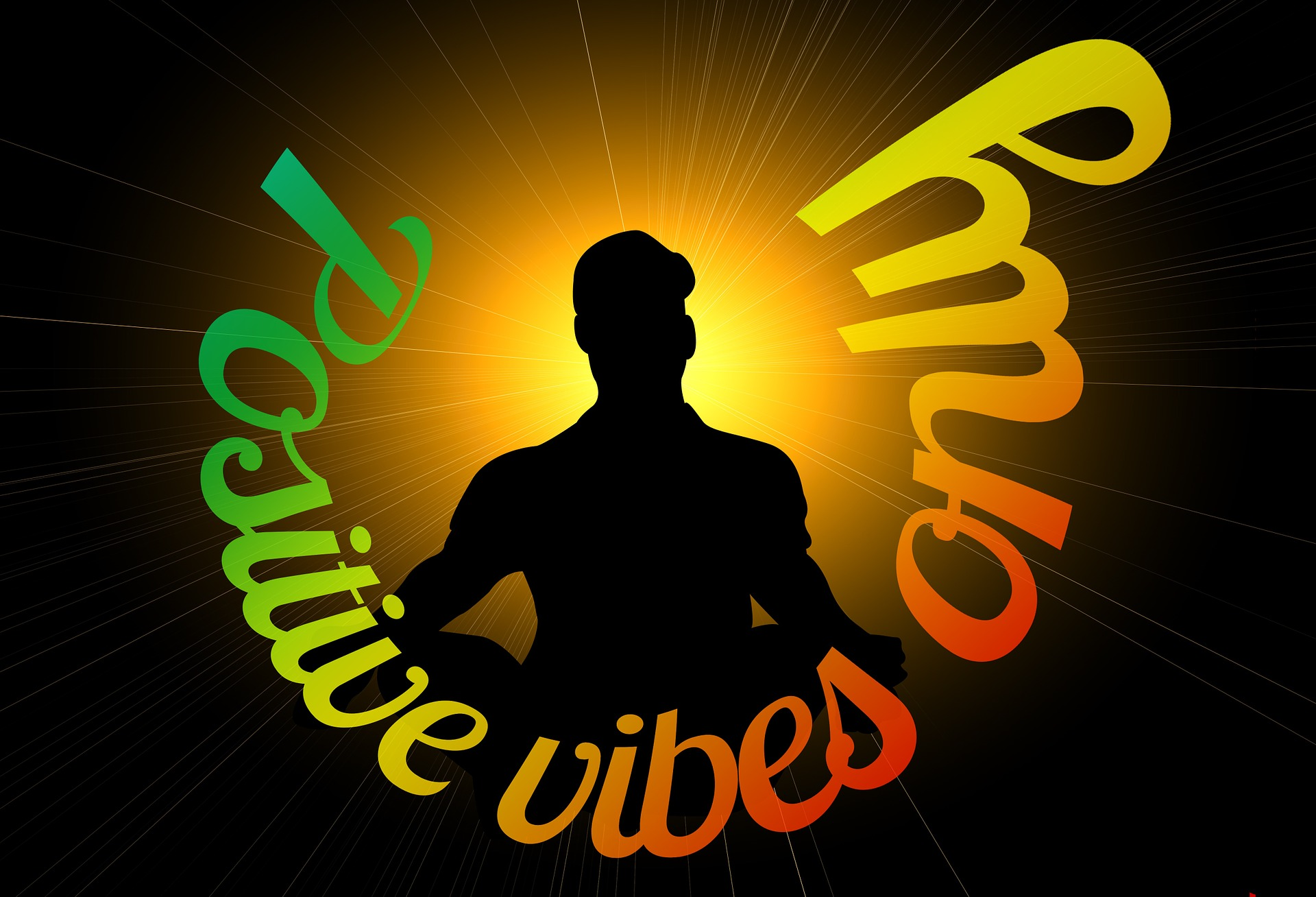 positive vibes image